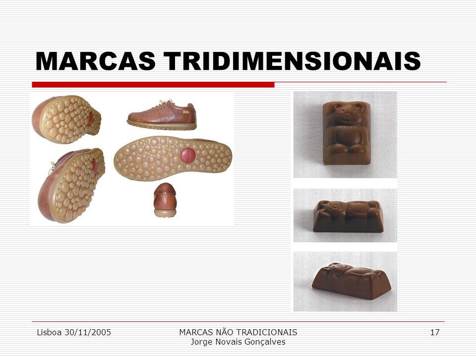 MARCAS TRIDIMENSIONAIS