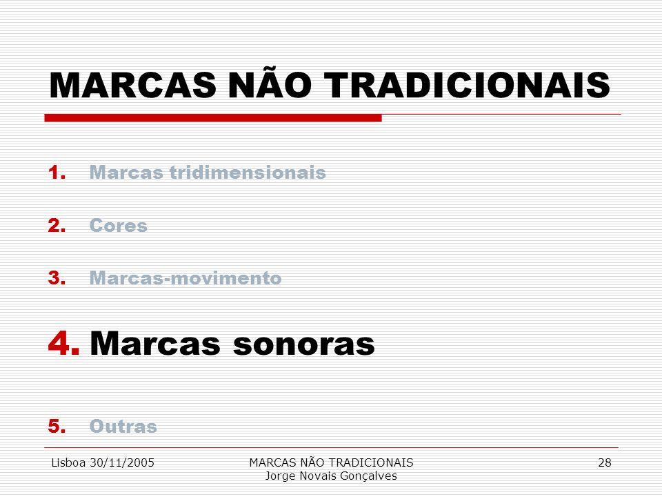 MARCAS NÃO TRADICIONAIS