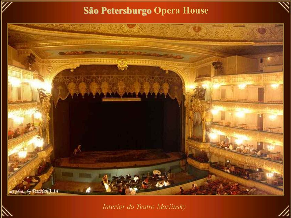 Interior do Teatro Mariinsky