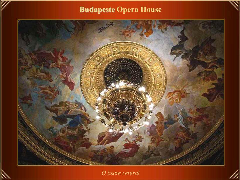 Budapeste Opera House O lustre central