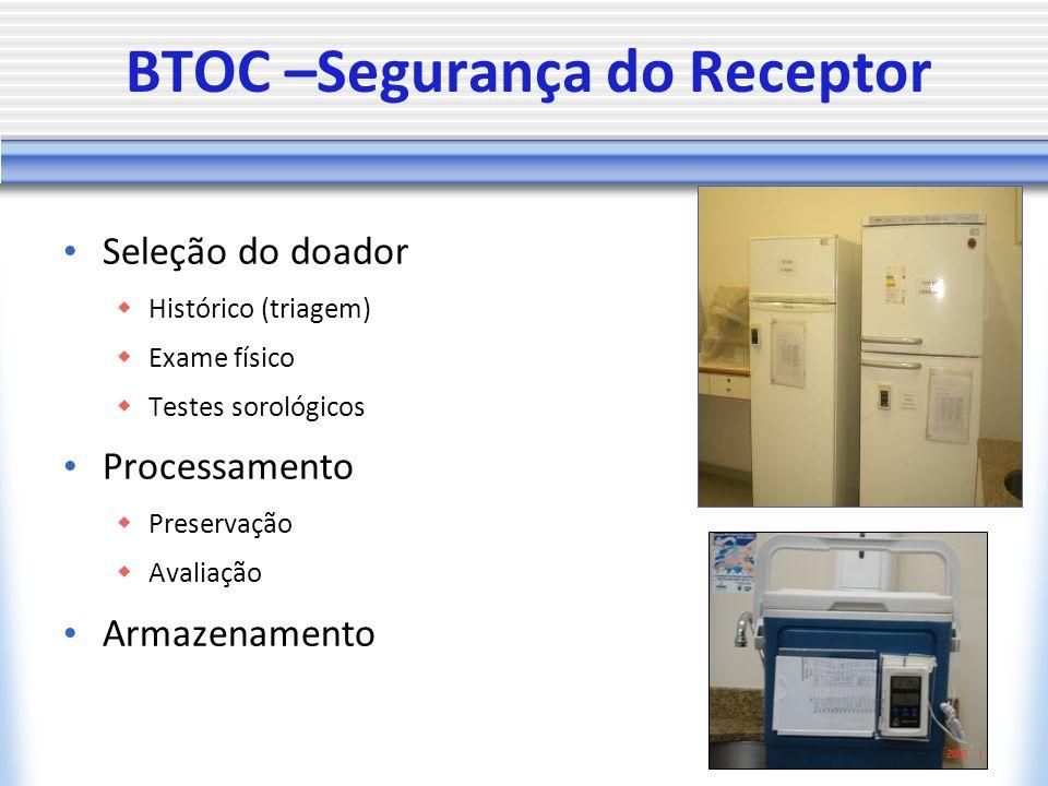 BTOC –Segurança do Receptor