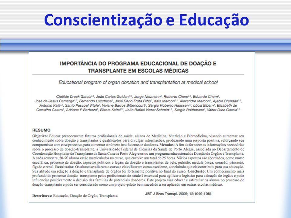 Conscientização e Educação