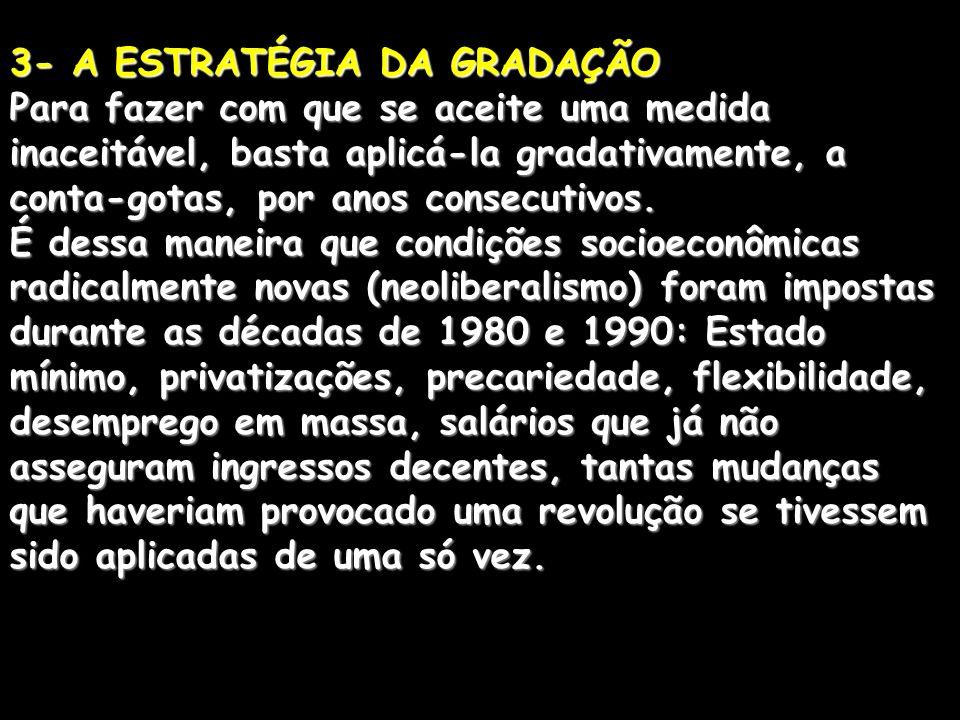 3- A ESTRATÉGIA DA GRADAÇÃO