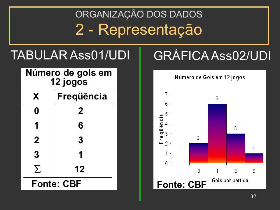 ORGANIZAÇÃO DOS DADOS 2 - Representação