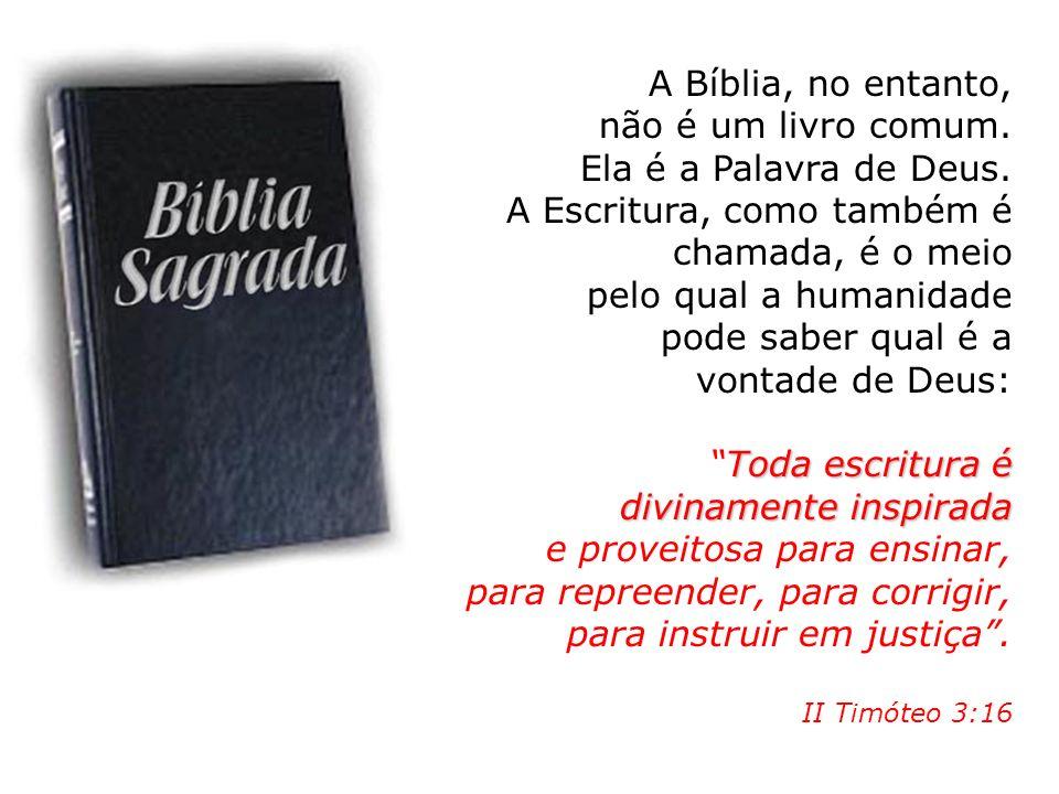 A Escritura, como também é chamada, é o meio pelo qual a humanidade