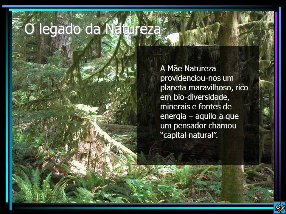 O legado da Natureza