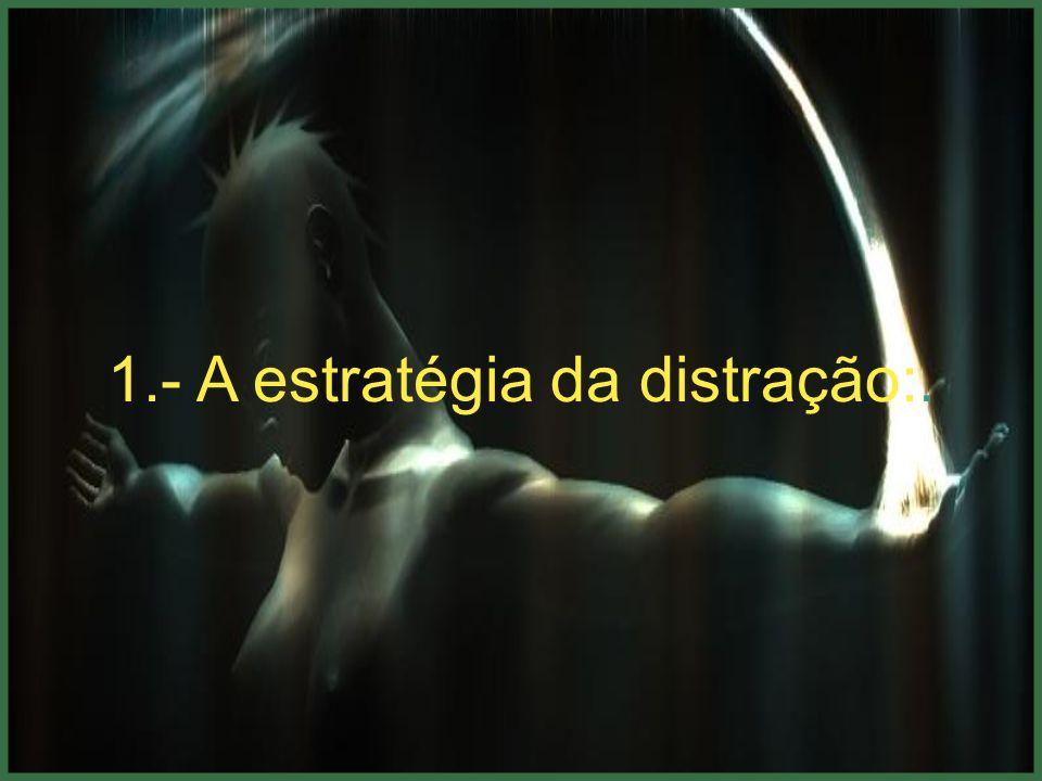 1.- A estratégia da distração:.