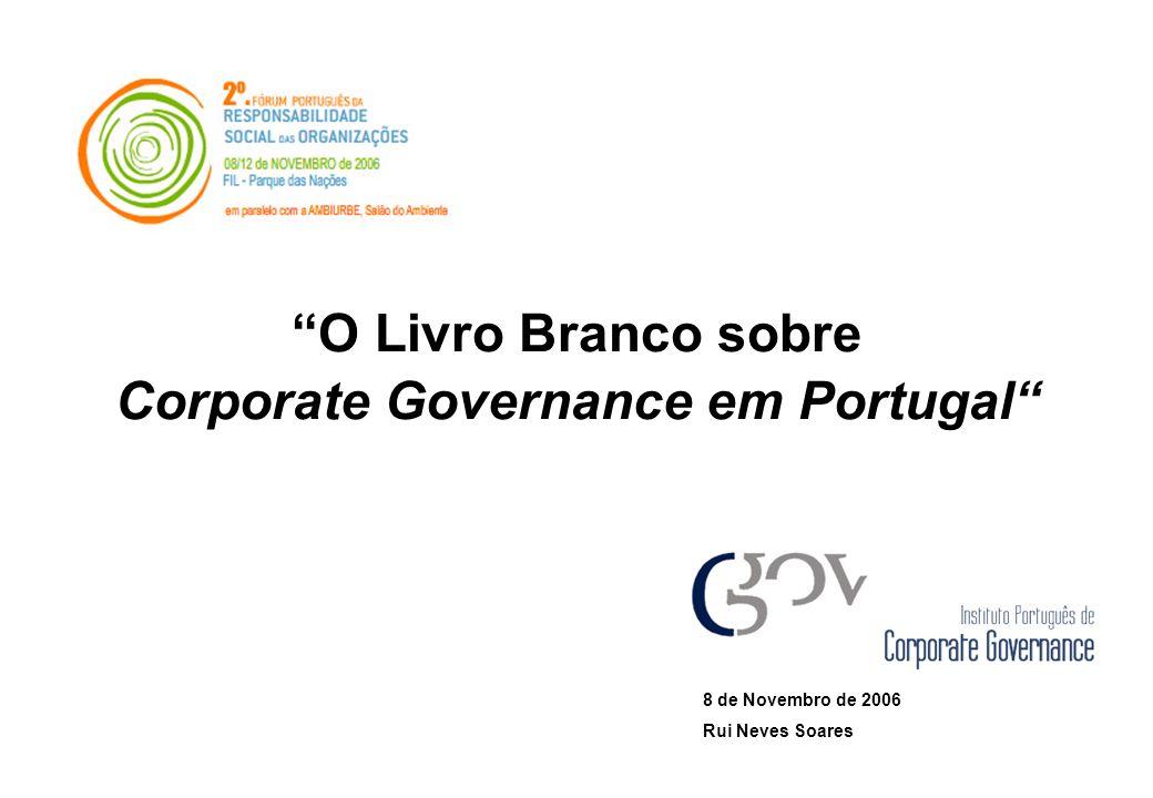 Corporate Governance em Portugal