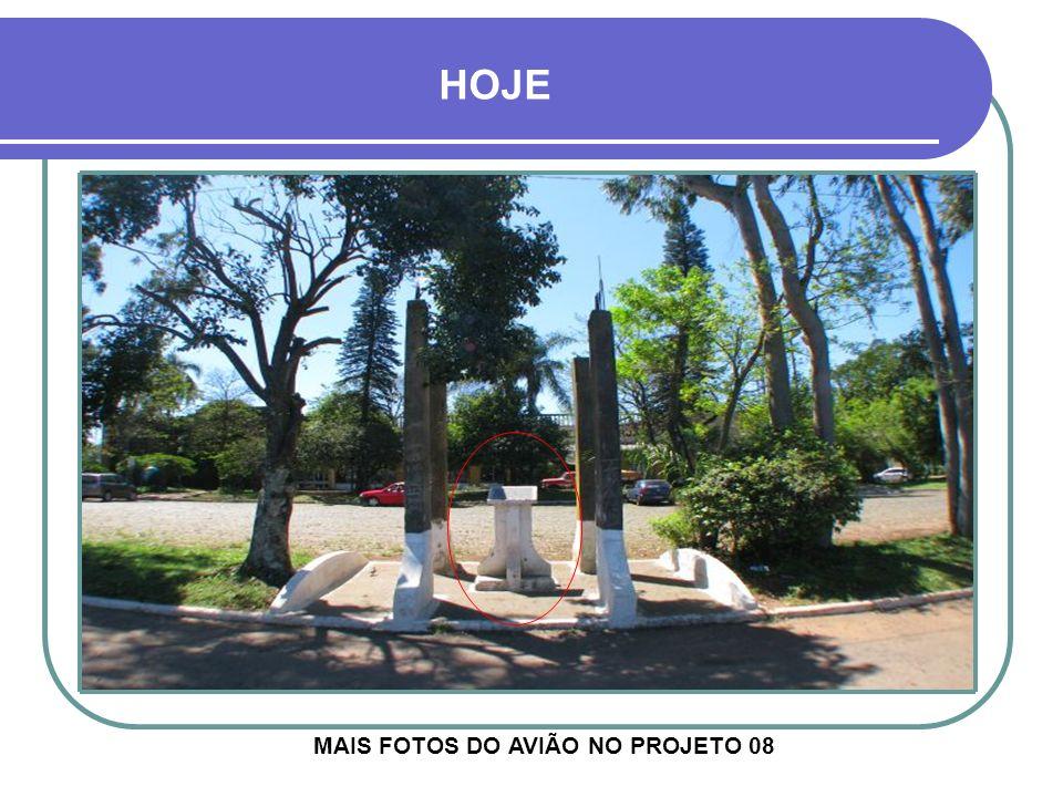 MAIS FOTOS DO AVIÃO NO PROJETO 08