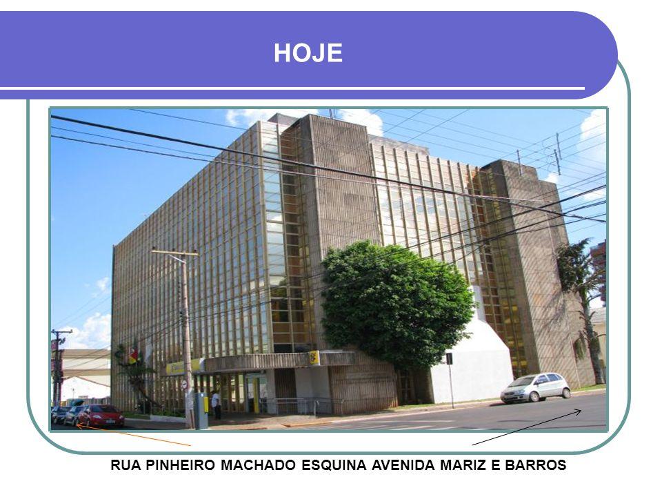 RUA PINHEIRO MACHADO ESQUINA AVENIDA MARIZ E BARROS