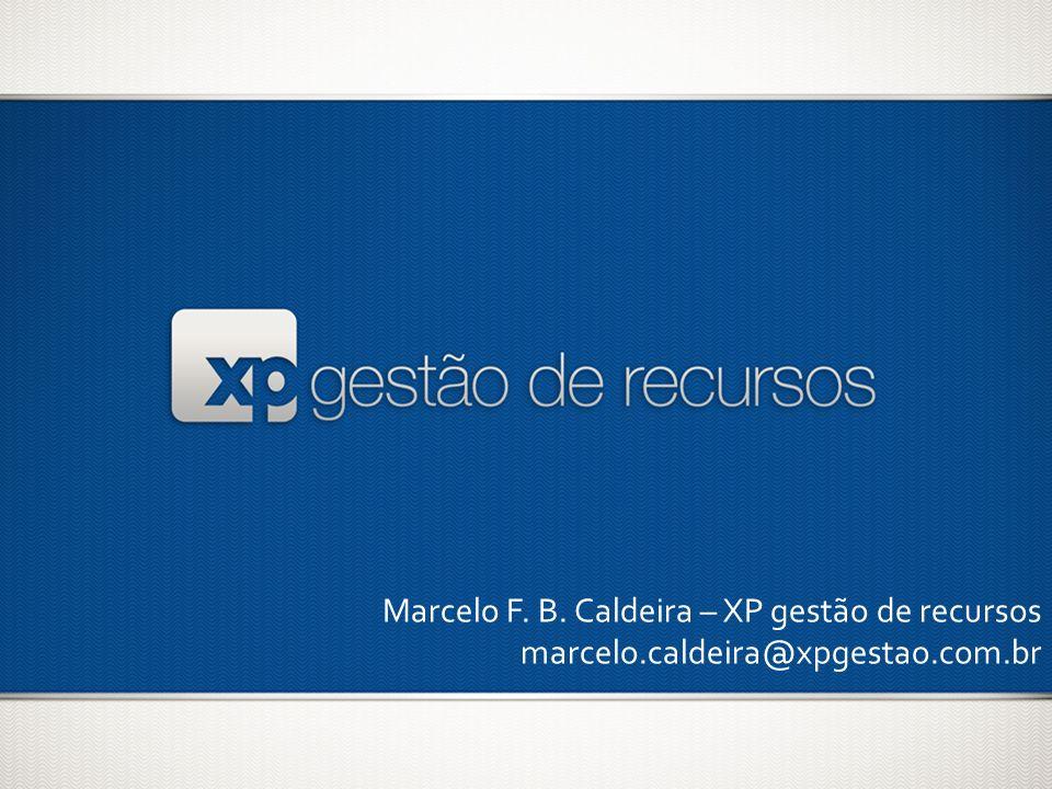 Marcelo F. B. Caldeira – XP gestão de recursos
