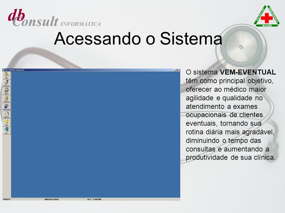 db Acessando o Sistema Consult