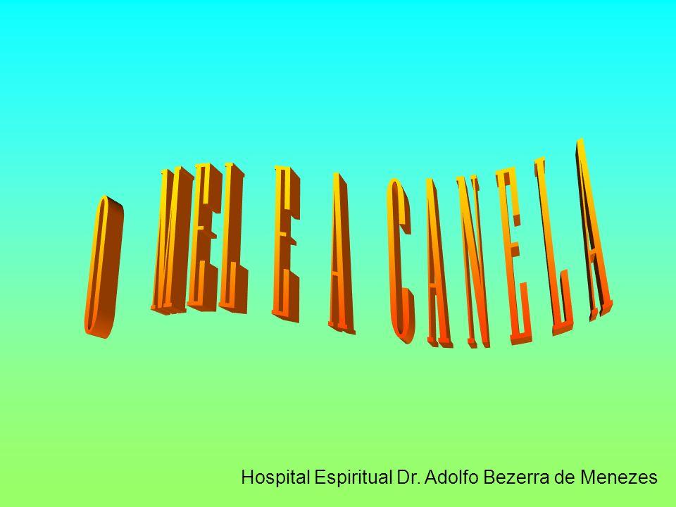 O MEL E A CANELA Hospital Espiritual Dr. Adolfo Bezerra de Menezes