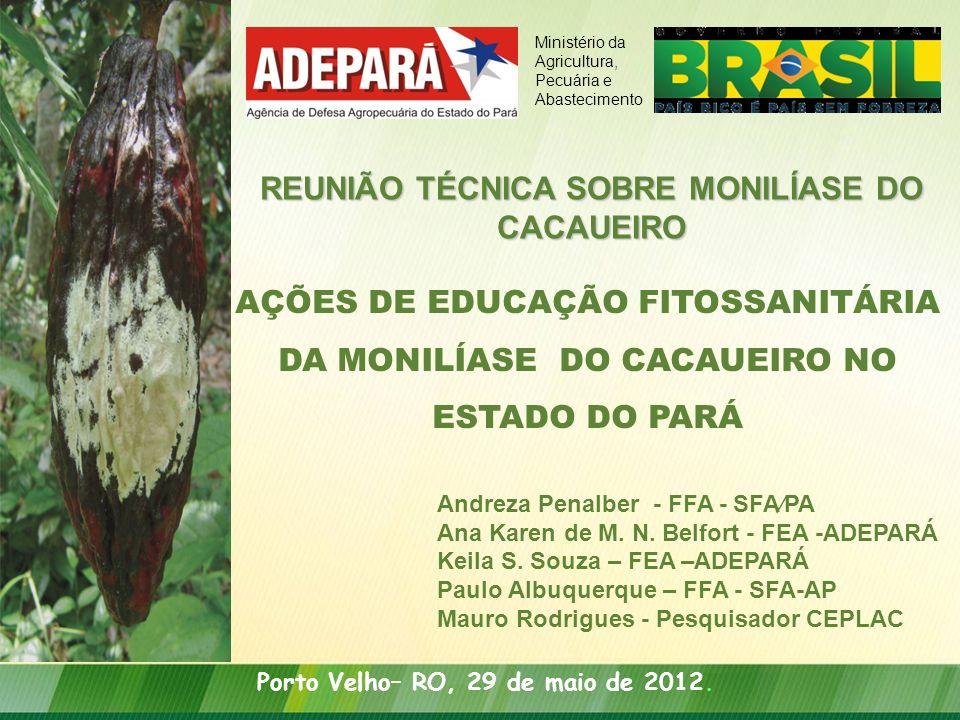 REUNIÃO TÉCNICA SOBRE MONILÍASE DO CACAUEIRO