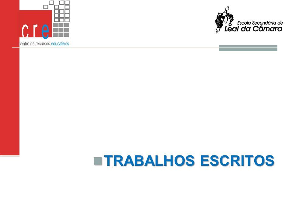 TRABALHOS ESCRITOS L.S.