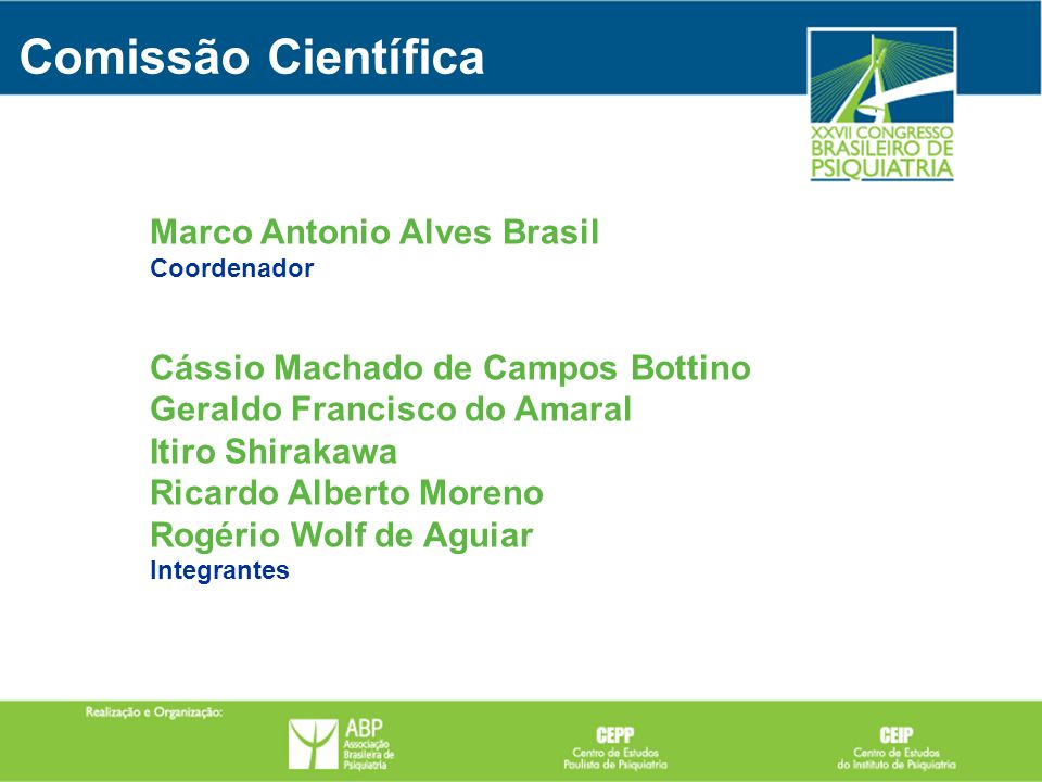 Comissão Científica Marco Antonio Alves Brasil