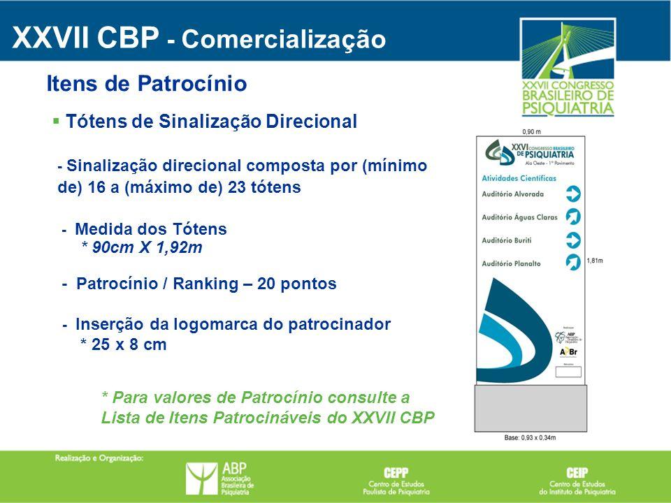 XXVII CBP - Comercialização