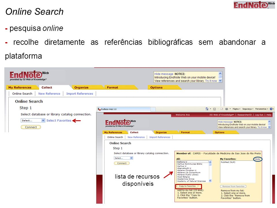 Online Search - pesquisa online