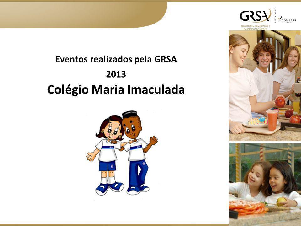 Eventos realizados pela GRSA Colégio Maria Imaculada