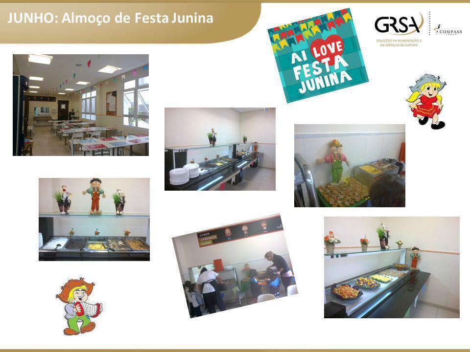 JUNHO: Almoço de Festa Junina