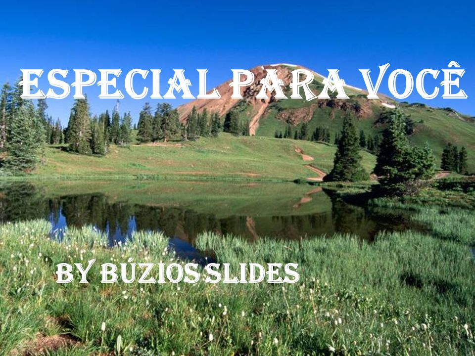 Especial Para Você By Búzios Slides