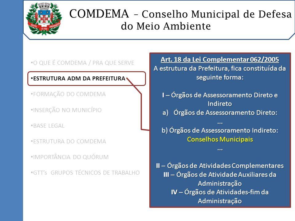 Art. 18 da Lei Complementar 062/2005