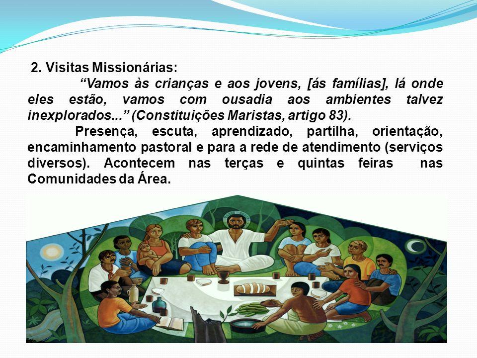 2. Visitas Missionárias: