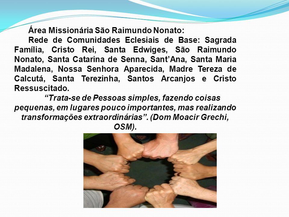 Área Missionária São Raimundo Nonato: