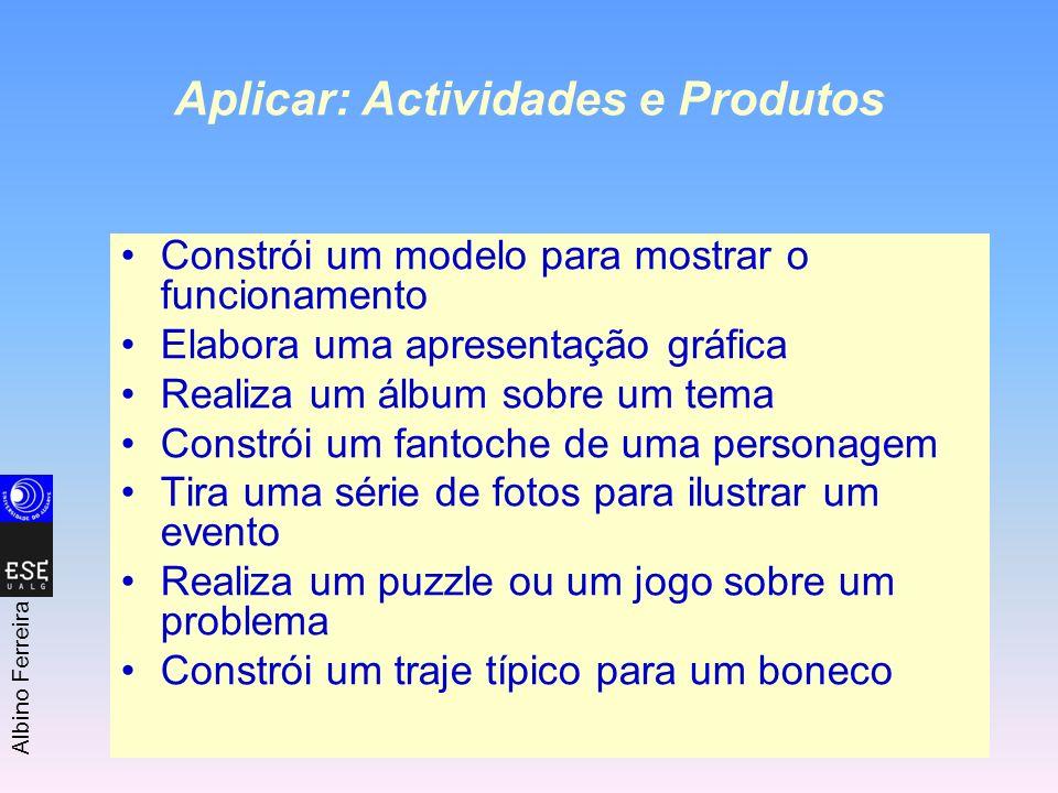 Aplicar: Actividades e Produtos
