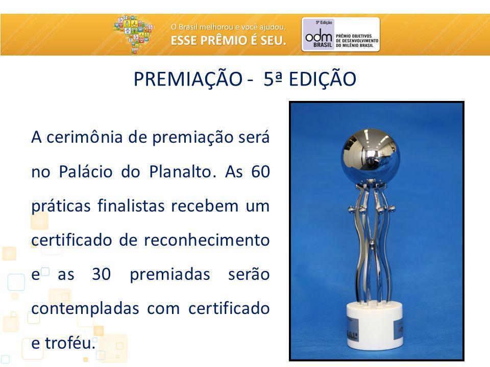 PREMIAÇÃO - 5ª EDIÇÃO