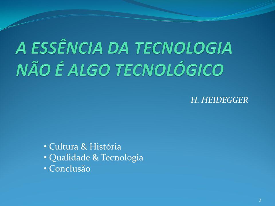 Qualidade & Tecnologia Conclusão