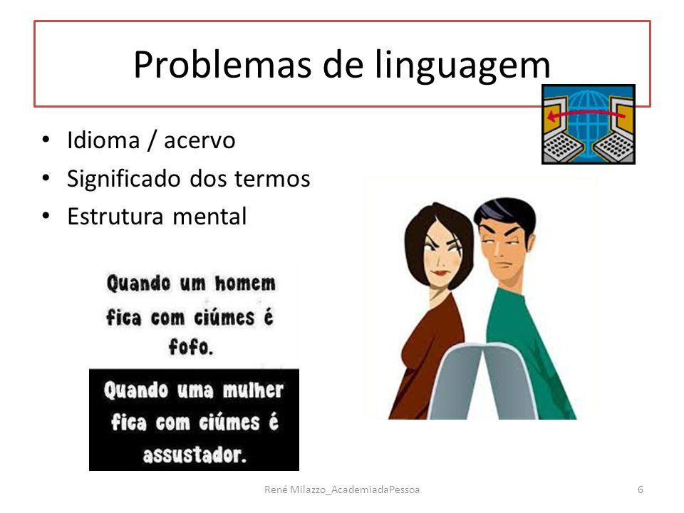 Problemas de linguagem