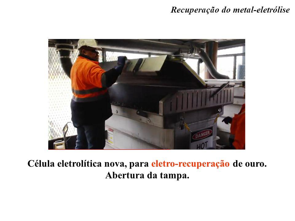 Recuperação do metal-eletrólise