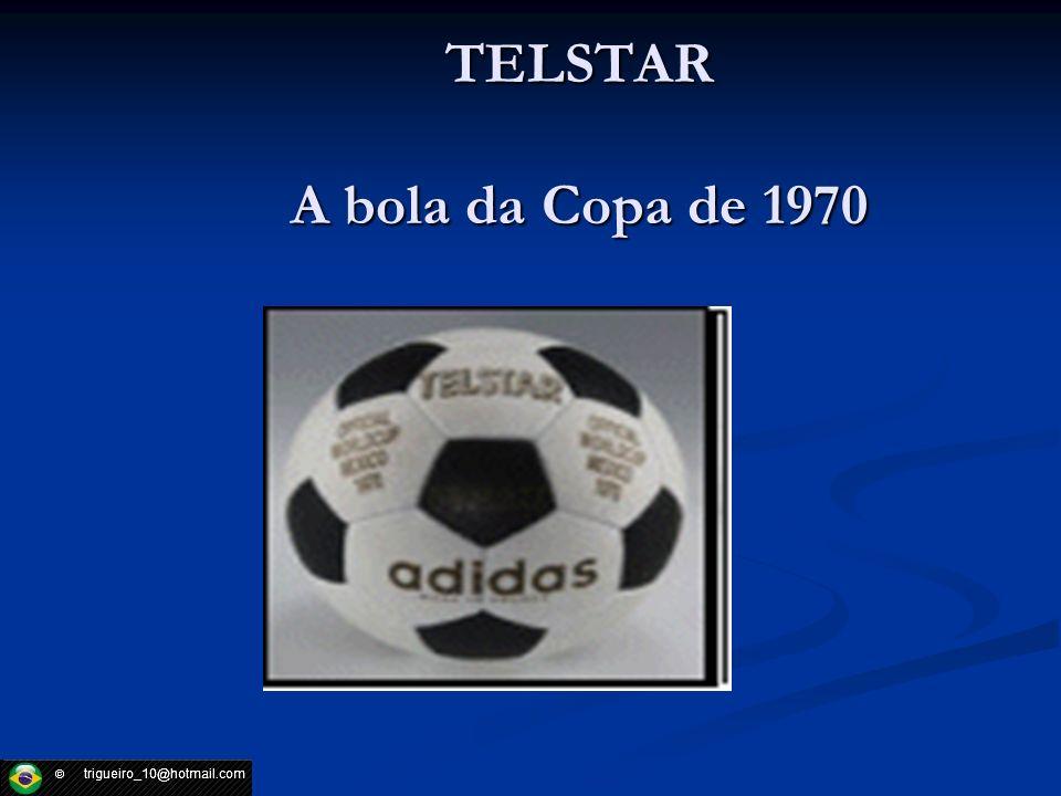 TELSTAR A bola da Copa de 1970