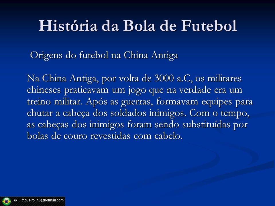 História da Bola de Futebol