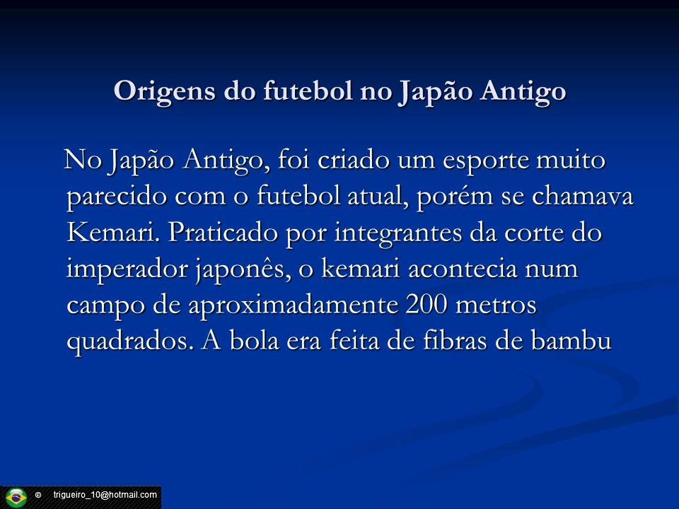 Origens do futebol no Japão Antigo