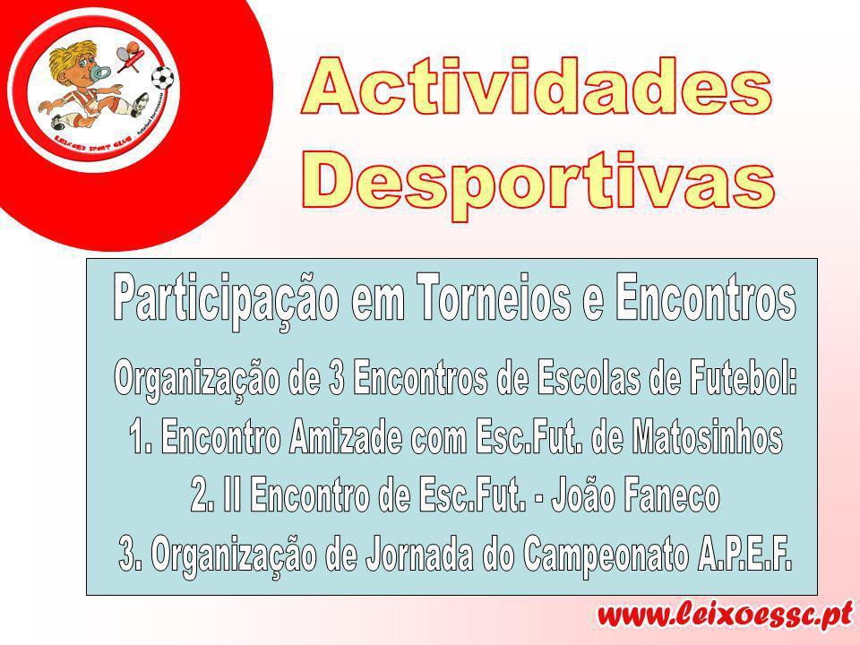 Participação em Torneios e Encontros