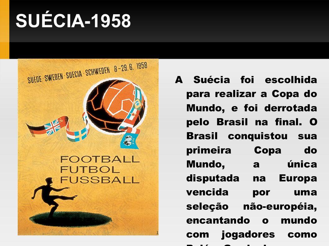 SUÉCIA-1958
