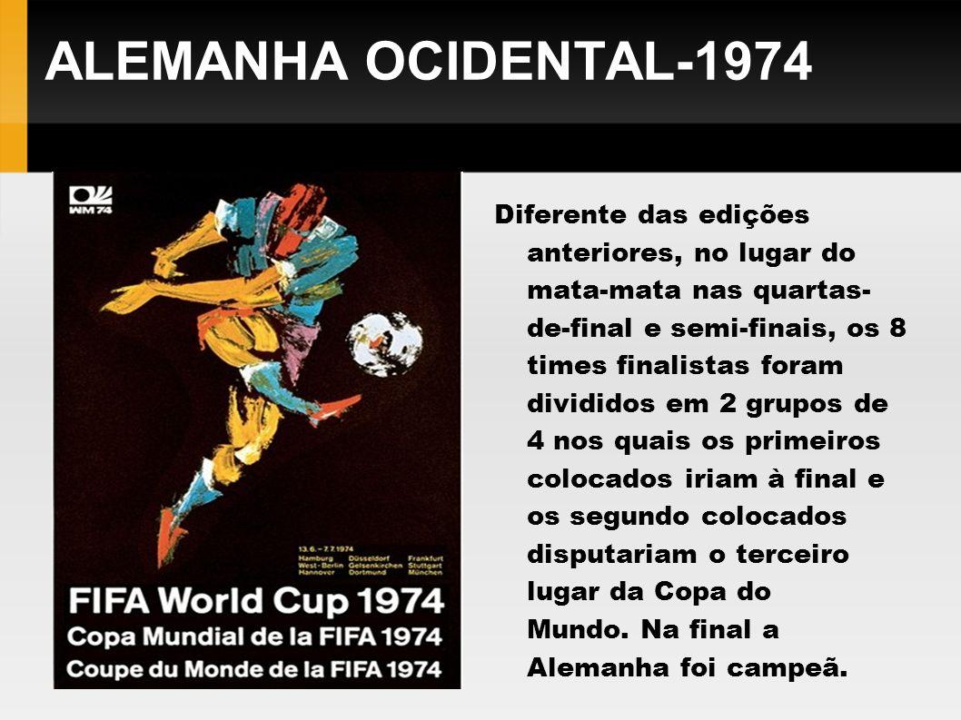 ALEMANHA OCIDENTAL-1974