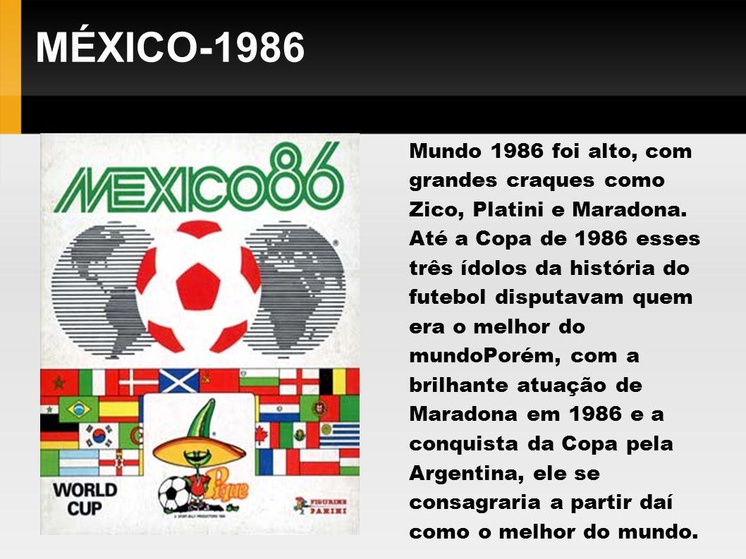 MÉXICO-1986