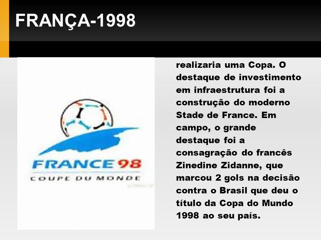 FRANÇA-1998