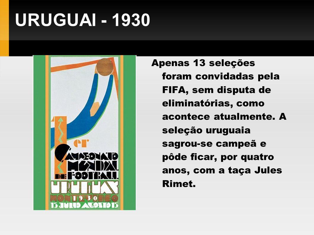 URUGUAI - 1930