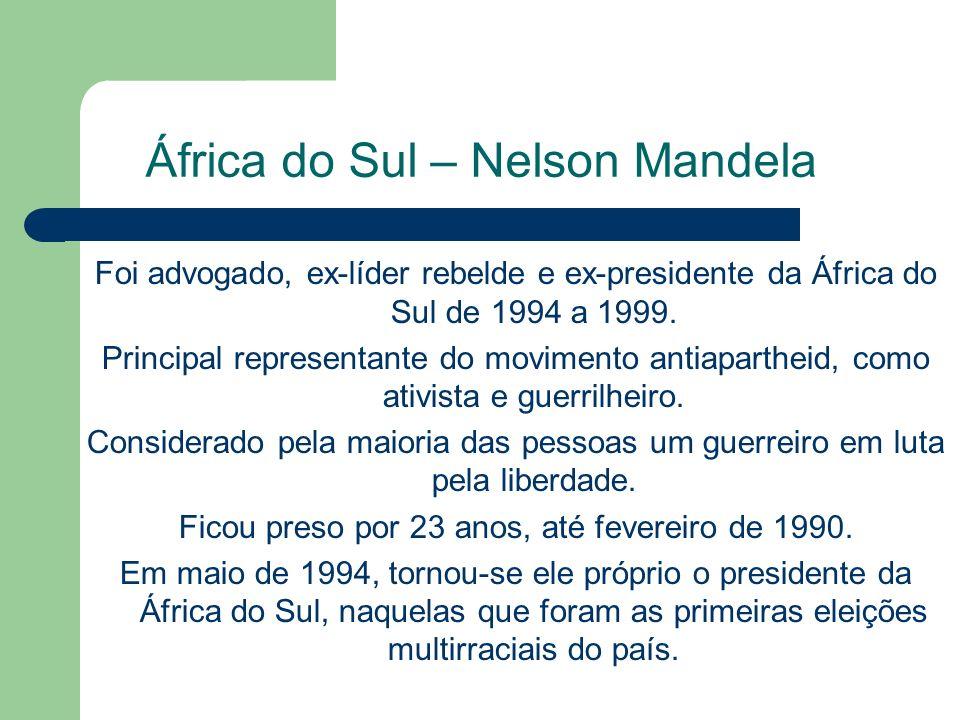 África do Sul – Nelson Mandela