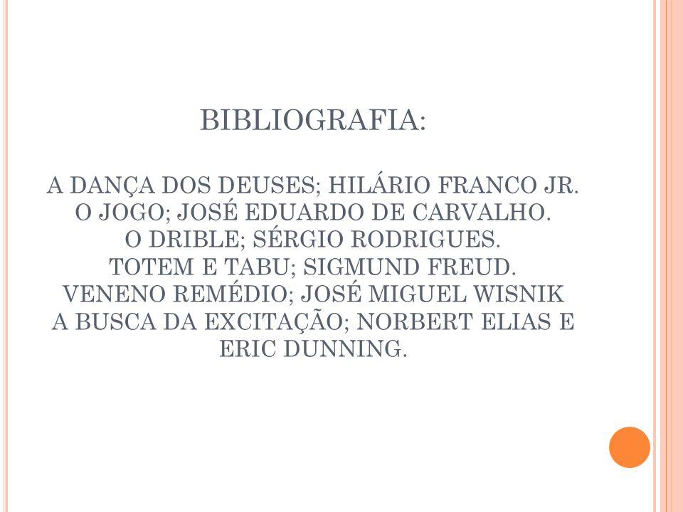 BIBLIOGRAFIA: A DANÇA DOS DEUSES; HILÁRIO FRANCO JR