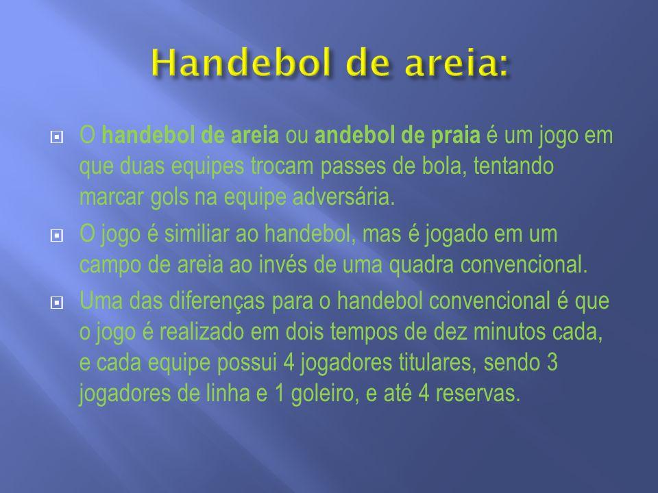 Handebol de areia: