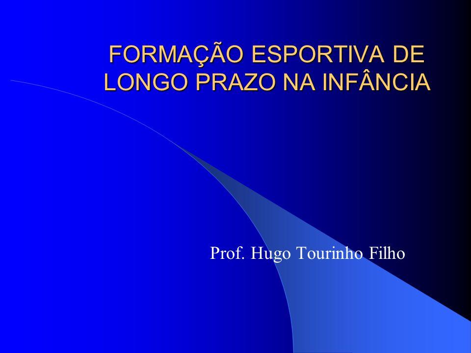 FORMAÇÃO ESPORTIVA DE LONGO PRAZO NA INFÂNCIA