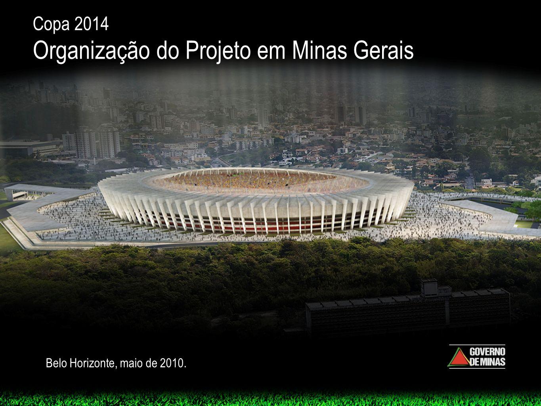 Organização do Projeto em Minas Gerais