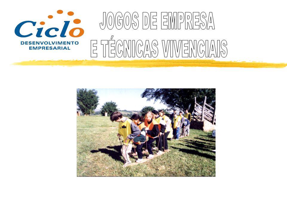 JOGOS DE EMPRESA E TÉCNICAS VIVENCIAIS