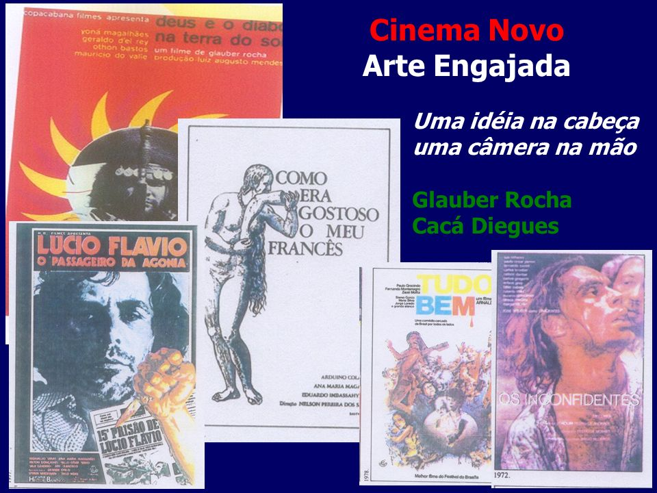 Cinema Novo Arte Engajada