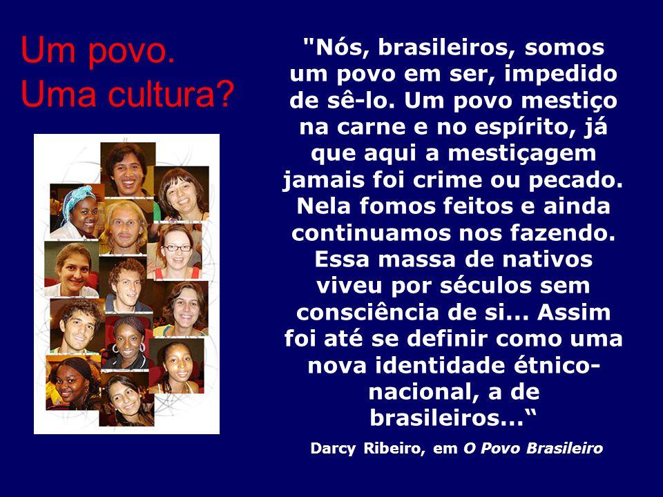 Darcy Ribeiro, em O Povo Brasileiro